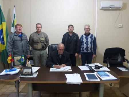 Contrato Celebrado entre Brigada Militar e Prefeitura Municipal de Bom Progresso